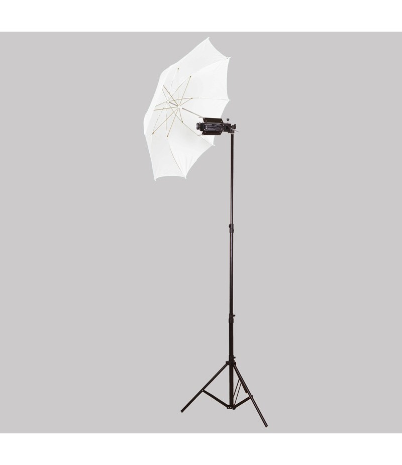 Porta light single with heavy  stand & umbrella