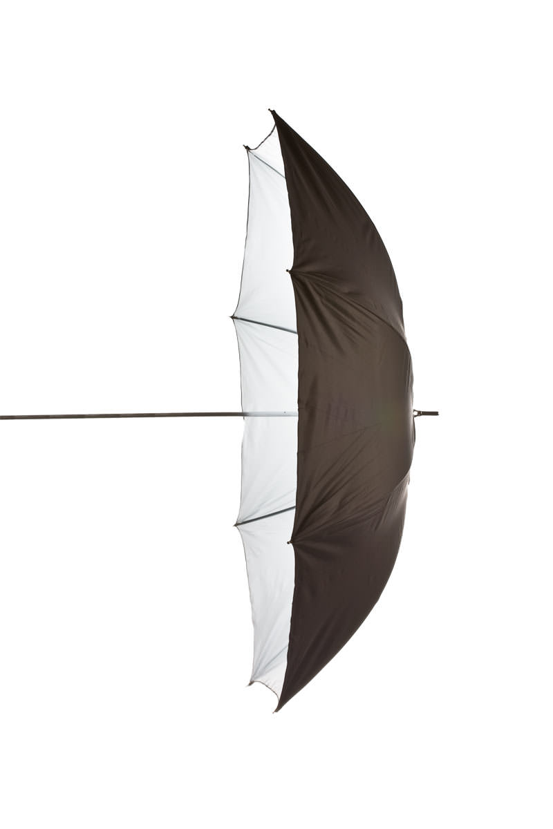 Black/White Umbrella 105 cm