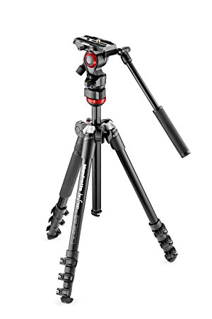 Manfrotto Befree Live Aluminium Travel Tripod with Fluid Head
