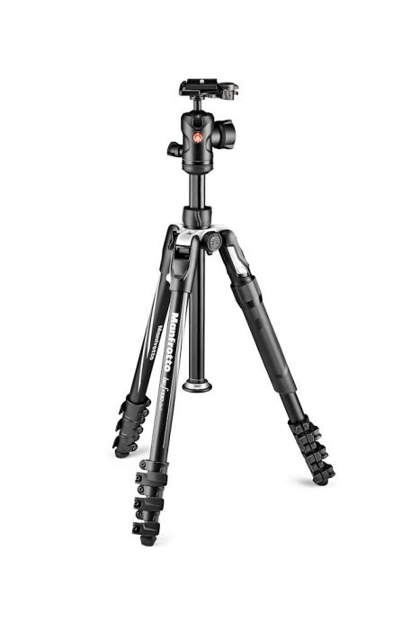 Manfrotto Befree 2N1 Aluminium tripod lever, monopod included