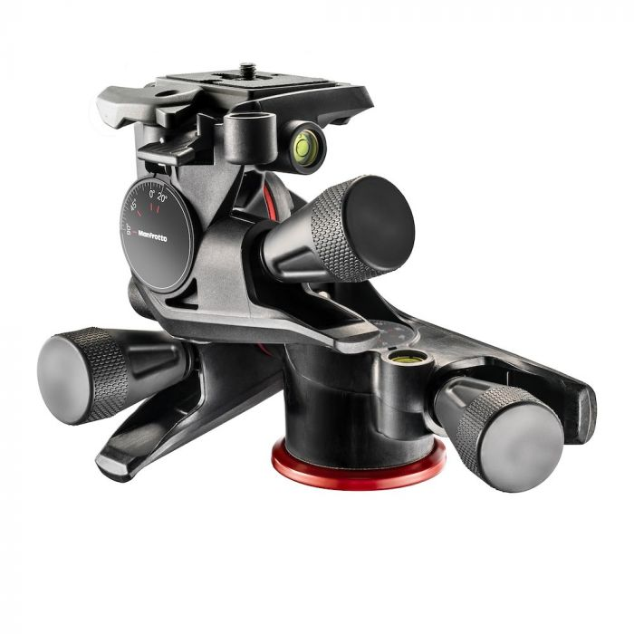 Manfrotto XPRO Geared Three-way pan/tilt head