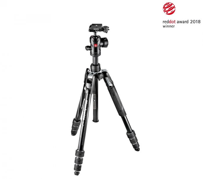 Manfrotto Befree Advanced Aluminum Travel Tripod twist, ball head