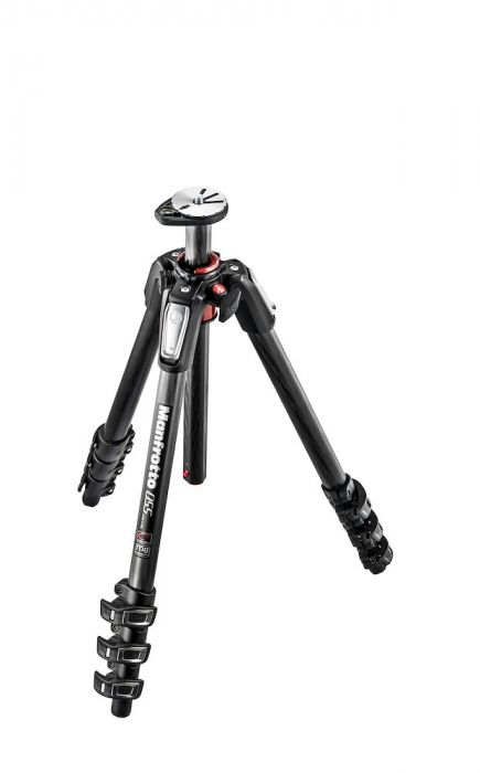 Manfrotto 055 carbon fibre 4-section photo tripod