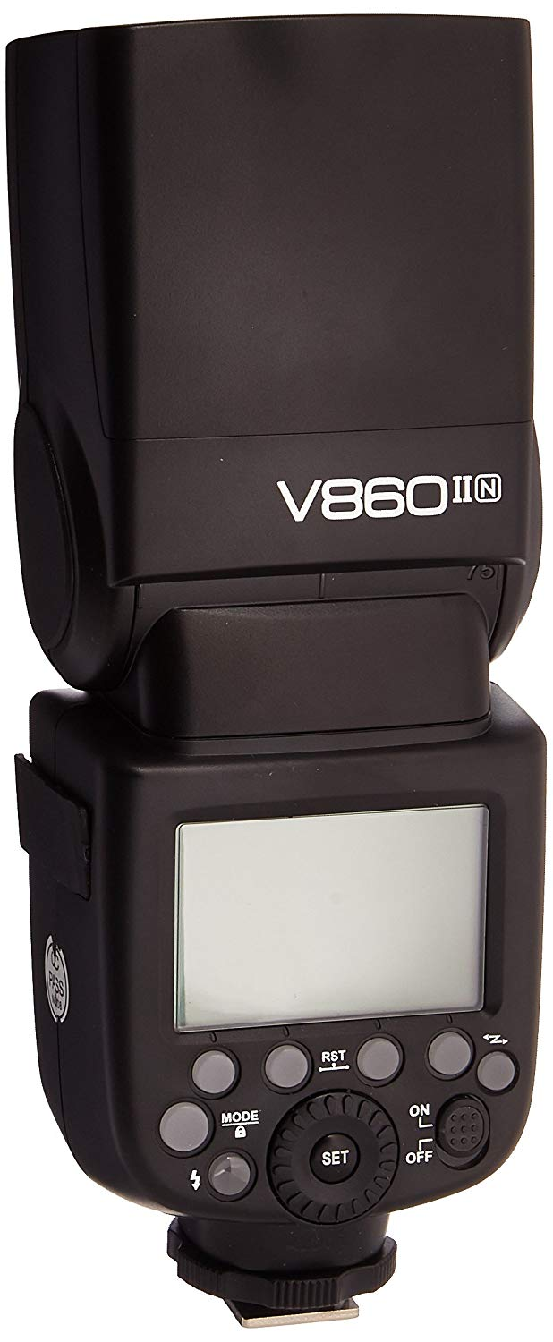 Godox Ving V 860 II TTL Li-Ion Flash Kit for Nikon Cameras (Black)